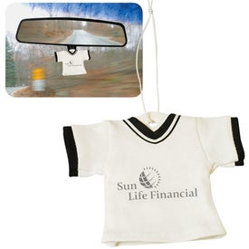 Promotional T-Shirt Air Freshener