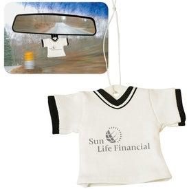 Promotional T-Shirt Air Freshener
