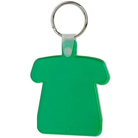 Advertising T-Shirt Soft Key Tag