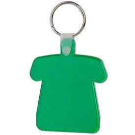 Advertising T-Shirt Soft Key Tag