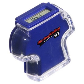 T Shirt Step Counter Pedometer Imprinted with Your Logo