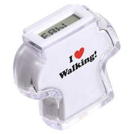 Imprinted T Shirt Step Counter Pedometer