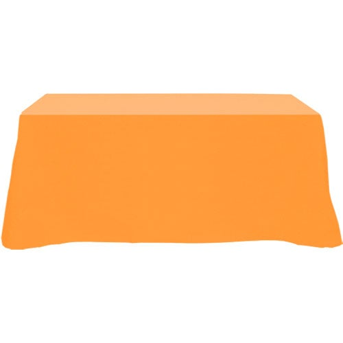 Four sided table cover fits 6 foot standard table trade for 10 ft table cloth
