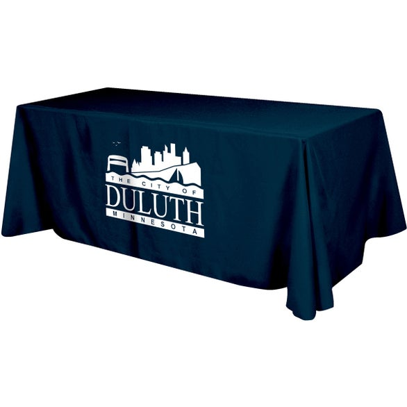 custom table skirts & promotional table cloths | quality logo products