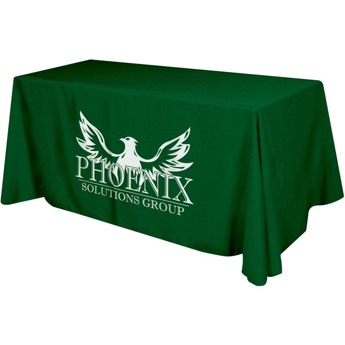 Three-sided Table Cover Fits 6 Foot Standard Table