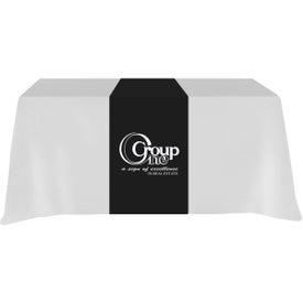 Table Runner (Front, Top, Back, Screen Print, Colors, No Quick Ship)