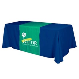 Front and Top Printed Table Runner