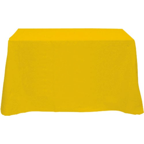 Table cover fits 4 foot standard table flat 4 sided for 10 ft table cloth