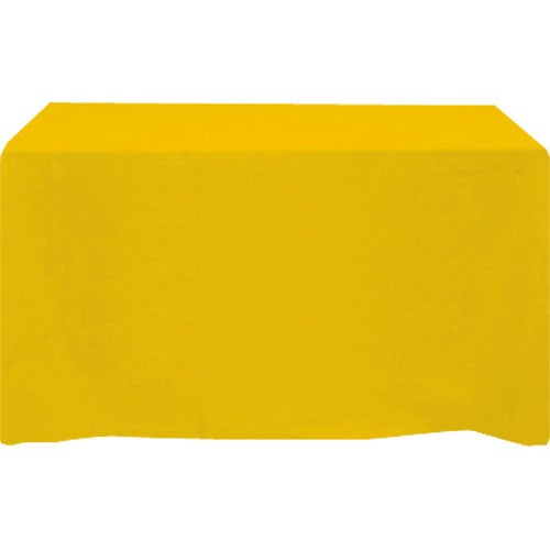 Table cover fits 6 foot standard table fitted 4 sided for 10 ft table cloth