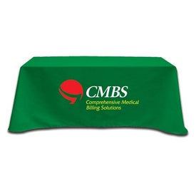 Table Cover Fits 6 Foot Standard Table (Flat 3 Sided)