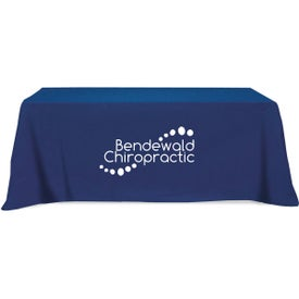 Flat 4-Sided Table Cover for Your Organization