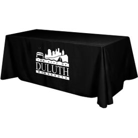 Polyester Table Cover (8 Ft. Table, Flat, 4-Sided)