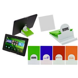 Tablet Stand and Cleaner Branded with Your Logo