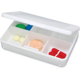 Advertising Tablet Tote Pill Box