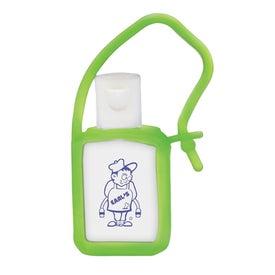 Customized Tag Along Gel Sanitizer