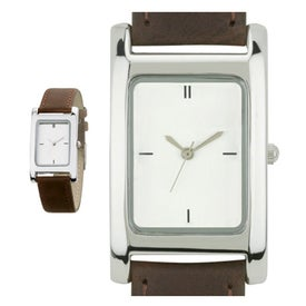Polished Silver Tank Styles Mens Watch for your School