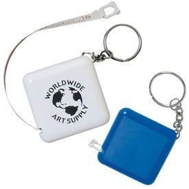 Custom Tape-A-Matic Key Tag