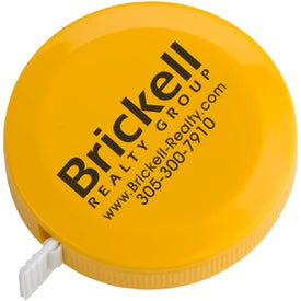 Tape Measure with Your Slogan