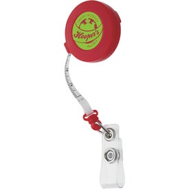 Tape Measure Badge Holder Printed with Your Logo