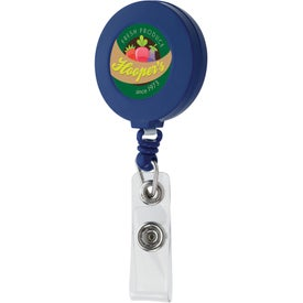 Tape Measure Badge Holder Imprinted with Your Logo