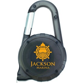 Printed Tape Measure Carabiner