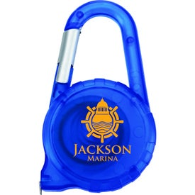 Company Tape Measure Carabiner