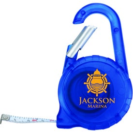 Branded Tape Measure Carabiner