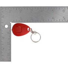 Customized Tear Drop Mini Light Key Tag