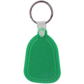 Teardrop Soft Key Tag for Promotion