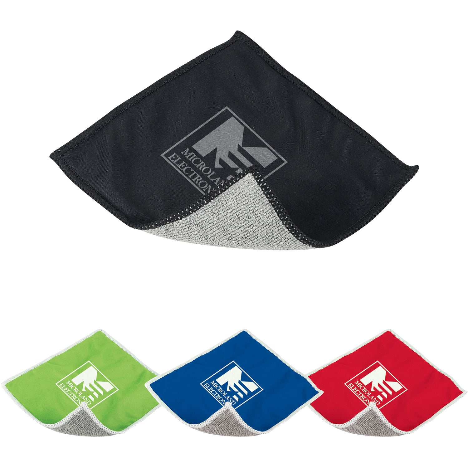 Microfiber Screen Cleaning Cloth Promotional: Promotional Tech Screen Cleaning Cloths With Custom Logo