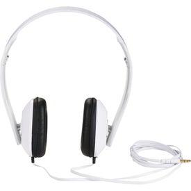 Advertising Techno Headphones
