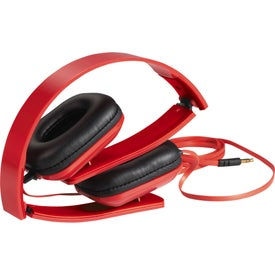 Imprinted Techno Headphones