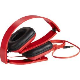 Imprinted Techno Headphones