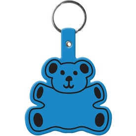 Advertising Teddy Bear Key Tag