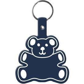 Advertising Teddy Bear Key Tag