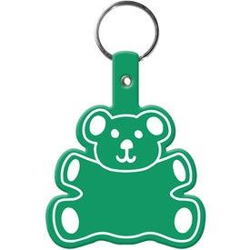 Teddy Bear Key Tag for Customization