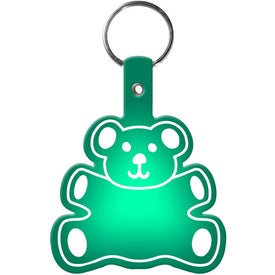 Teddy Bear Key Tag for Advertising