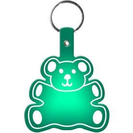 Teddy Bear Key Tag for Advertising