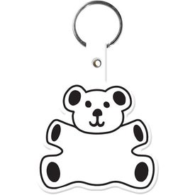 Customized Teddy Bear Key Tag