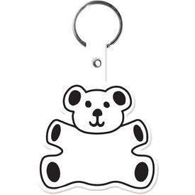 Customized Teddy Bear Key Tag
