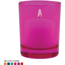 Tek Votive Round Branded with Your Logo