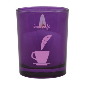 Tek Votive Round Imprinted with Your Logo