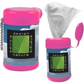 Branded Tek-Wipes Antibacterial Wet Wipes