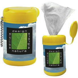 Tek-Wipes Antibacterial Wet Wipes Branded with Your Logo