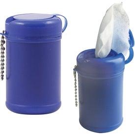 Customized Tek-Wipes Antibacterial Wet Wipes