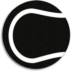 Imprinted Tennis Ball Jar Opener