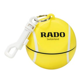 Tennis Ball with Hook Clip and Poncho