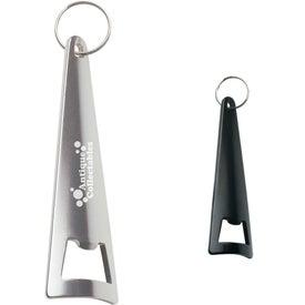 Tepee Bottle Opener Key Ring Branded with Your Logo