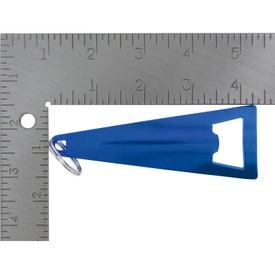 Tepee Bottle Opener Key Ring with Your Logo