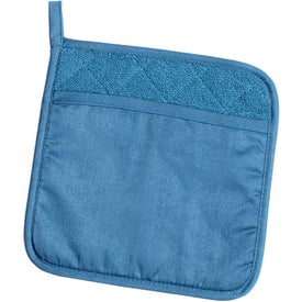 Terry Cloth Potholder for Your Company